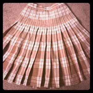 Limited Edition Reversible Pendleton Skirt